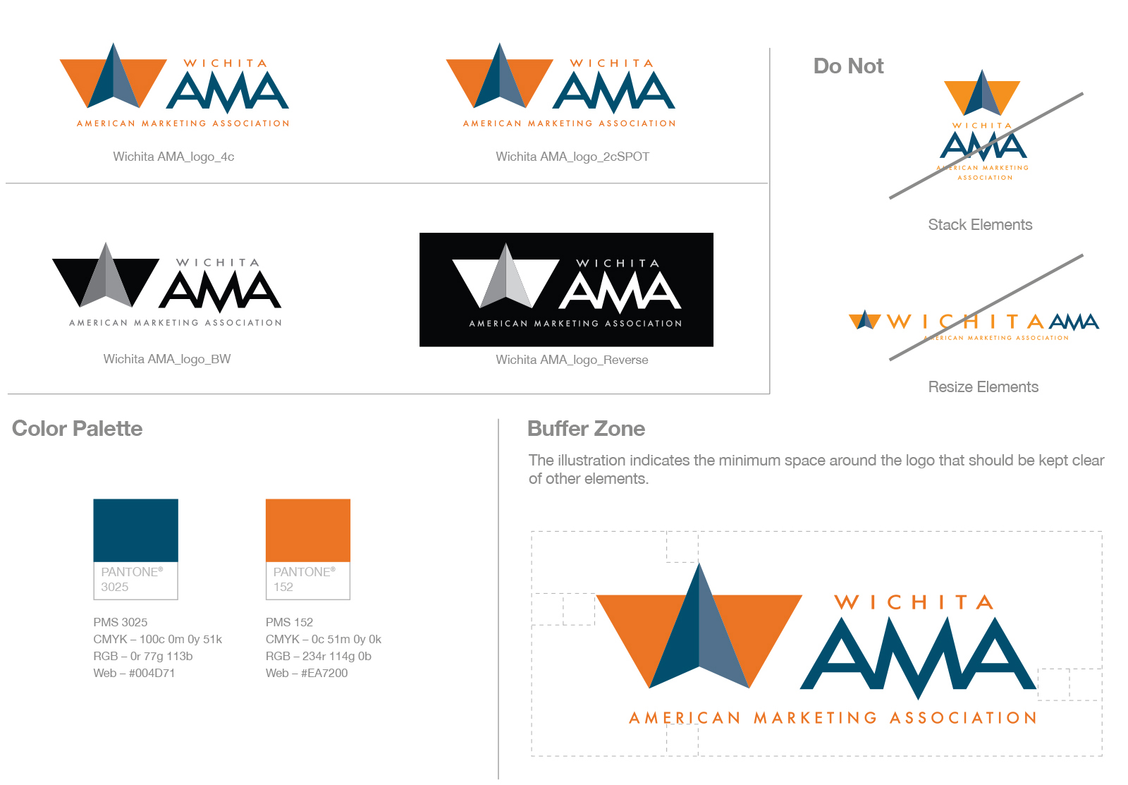 wichitaama dustin commer  wama logo brand guidelines