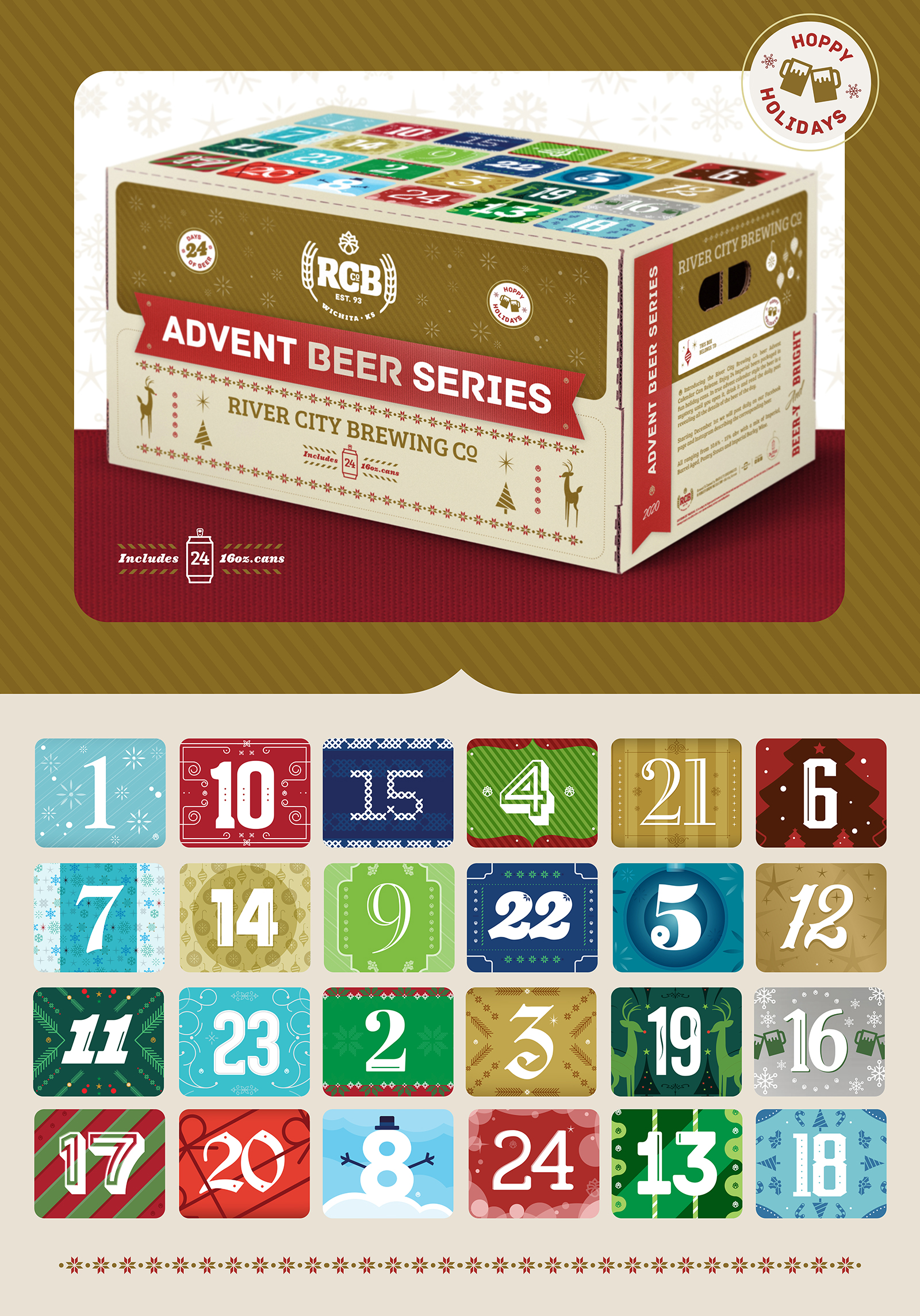 RCB Advent Beer Elements